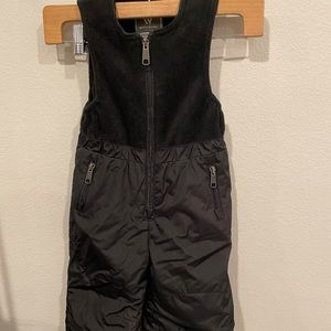 White Sierra youth toodler insulated snow pant bid